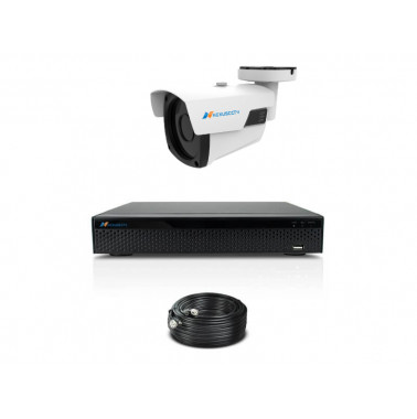 KOMPLETNY SYSTEM DO MONITORINGU WIDEO - HD-B80-1