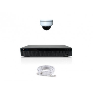 KOMPLETNY SYSTEM DO MONITORINGU WIDEO - IP-DM20PTZ-1