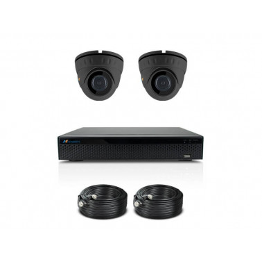 KOMPLETNY SYSTEM DO MONITORINGU WIDEO - HD-D50-GR-2